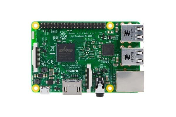 Raspberry Pi 3 Model B with 1.2GHz 64-bit Quad Core and 1GB Ram