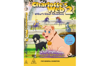Charlottes Web 2 Wilburs Great Adventure DVD Region 4