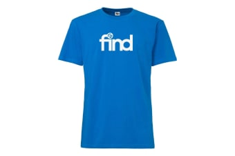 FIND™ T-Shirt Blue 'Team Print' Small Size XS