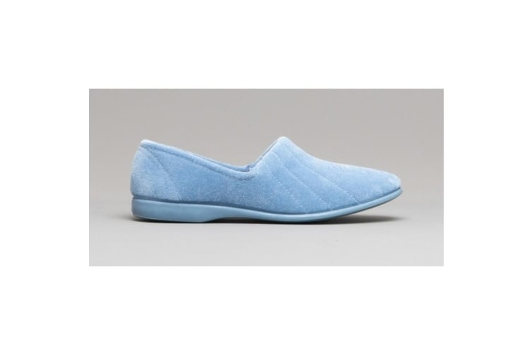 GBS Audrey Ladies Slipper / Womens Slippers (Light Blue) (6 UK)