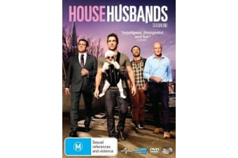 House Husbands Season 1 - Series Rare- Aus Stock DVD PREOWNED: DISC LIKE NEW
