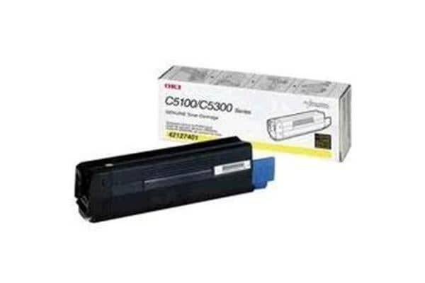 OKI Toner C510dn Yellow 5000 pages