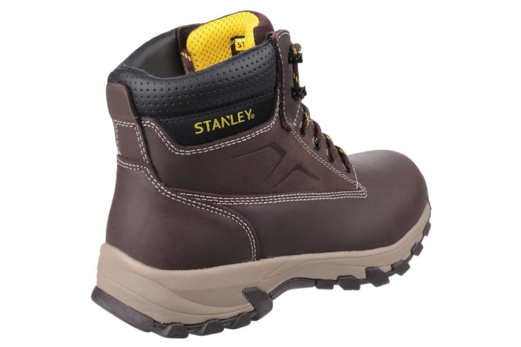 Stanley Mens Tradesman Lace Up Penetration Resistant Safety Boots (Brown) (12 UK)