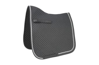 HyWITHER Diamond Touch Dressage Pad (Black) (Cob/Full)