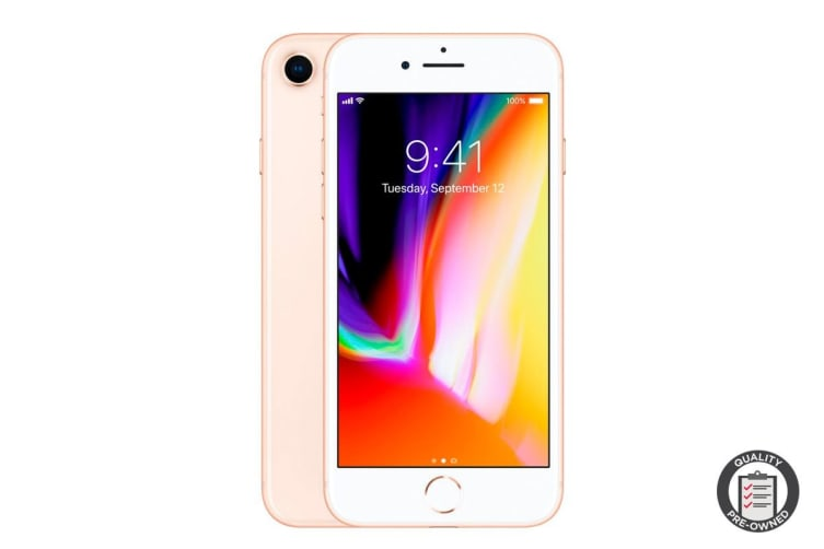 Apple iPhone 8 (64GB, Gold) Preowned