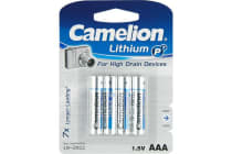 Camelion Aaa Lithium Battery - 4 Pack
