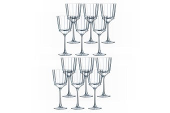 12PK Cristal D'Arques Macassar 250ml Red White Wine Glass Glasses Bar Tableware