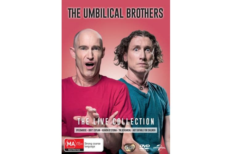 The Umbilical Brothers Live Collection DVD Region 4