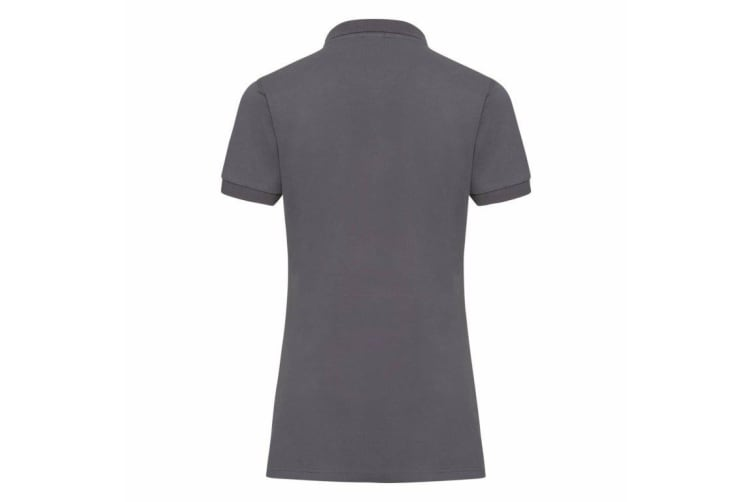 Russell Womens/Ladies Stretch Short Sleeve Polo Shirt (Convoy Grey) (S)