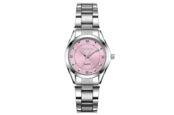 Women's Quartz Watch Stainless Steel  Wrist Watches Pink