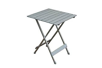 Camp 4 Single Folding Camping Table (Silver) (One Size)