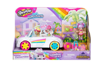 Happy Places Shopkins Raibow Beach Happy Convertible S5