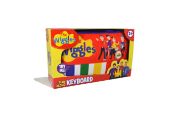 Wiggles Plush Keyboard With Sound