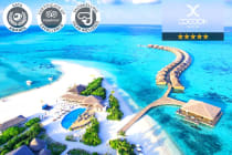 MALDIVES: 5 or 7 Nights at Cocoon Maldives for Two