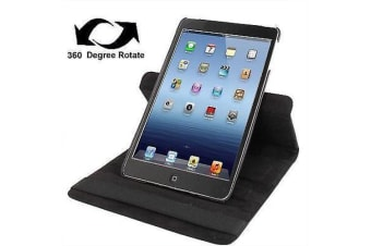 For iPad mini 1 / 2 / 3 Case  Durable High-Quality Leather Cover Black