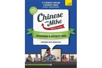 Learn Chinese with Mike Advanced Beginner to Intermediate Coursebook and Activity Book Pack Seasons 3, 4 & 5 - Books, video and audio support