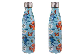 2x Oasis 500ml Double Wall Insulated Drink Water Bottle Vacuum Flask Pirate Bay