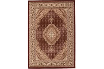 Stunning Formal Oriental Design Rug Red