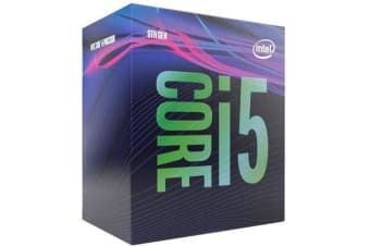 Intel Core i5-9400F 2.9Ghz s1151 Coffee Lake 9th Generation Boxed 3 Years Warranty - Dedicated Graphics is required