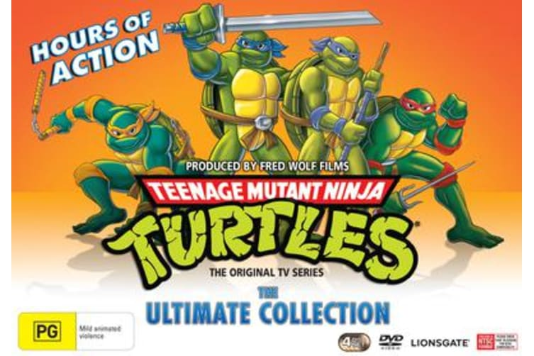 Teenage Mutant Ninja Turtles The Ultimate Collection Box Set DVD Region 4