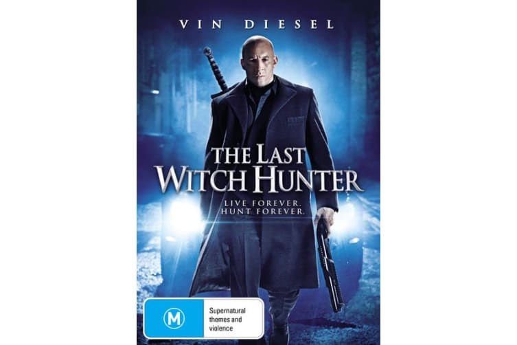 The Last Witch Hunter DVD Region 4