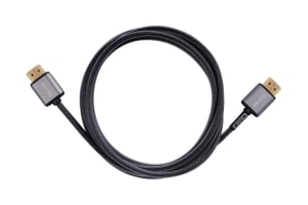 SONIQ Slim HDMI cable A-A 2M Black CAC-SS200K