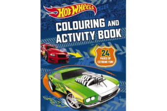 Hot Wheels Colouring and Activity Book