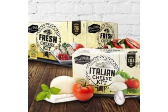 Mad Millie Make Your Own Cheese Kit - Italian Cheese Kit