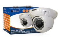 KGUARD 700TVL Outdoor Vandalproof Dome Security Camera with Night Vision (VD405E)