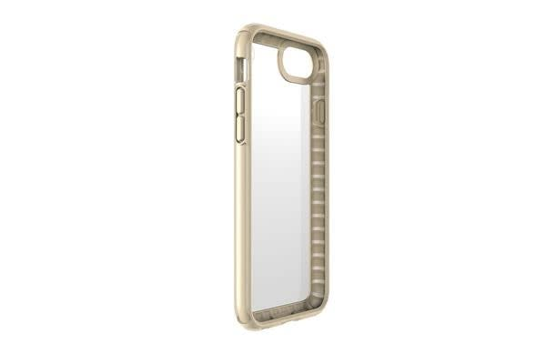 Speck Presidio Show Case for iPhone 6/6S/7 - Clear/Pale Yellow Gold