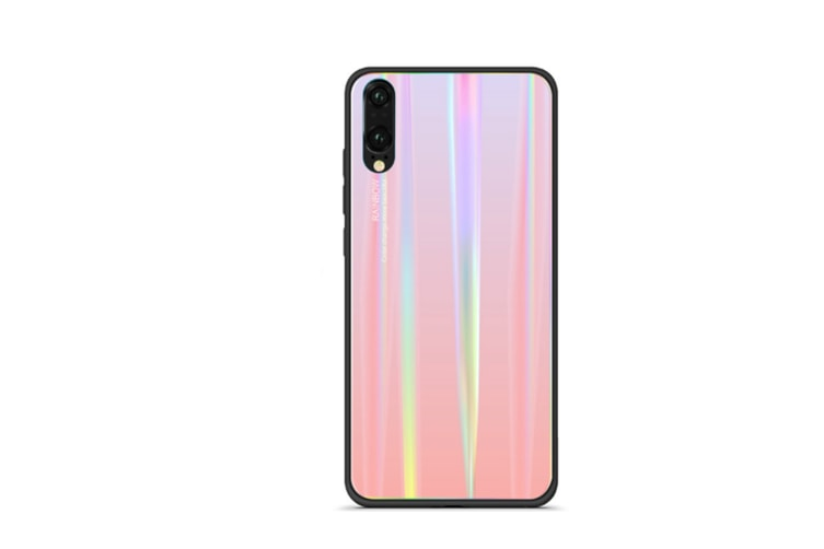 Ultra Thin Tpu Colorful Gradient Tempered Glass Protection For Huawei - No.2 Mate 20