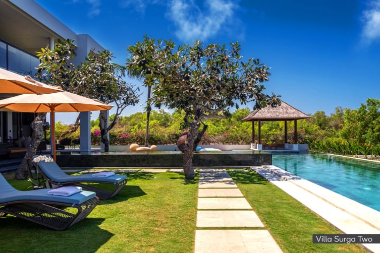 ULUWATU: 2 Nights at the Surga Villa Estate, Bali (Villa 1 and 2, 13 Bedroom)