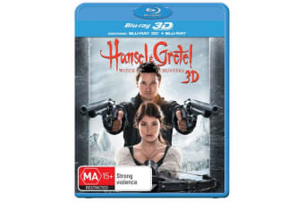 Hansel and Gretel Witch Hunters 3D Edition with 2D Edition Blu-ray Region B