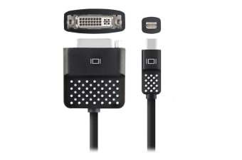 Belkin Mini Display Port to DVI Adapter for Apple MacBook Air Surface Pro Cable