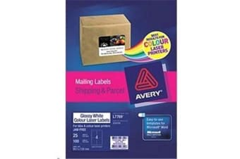 AVERY L7769-25 Mailing Label