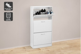 Ovela 3 Drawer Shoe Cabinet