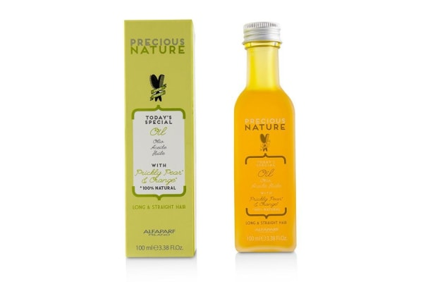 AlfaParf Precious Nature Today's Special Oil with Prickly Pear & Orange (Long & Straight Hair) 100ml/3.38oz