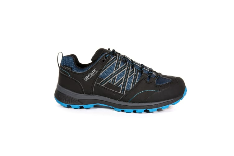 Regatta Womens/Ladies Samaris Low II Hiking Boots (Moroccan Blue/Black) (8 UK)