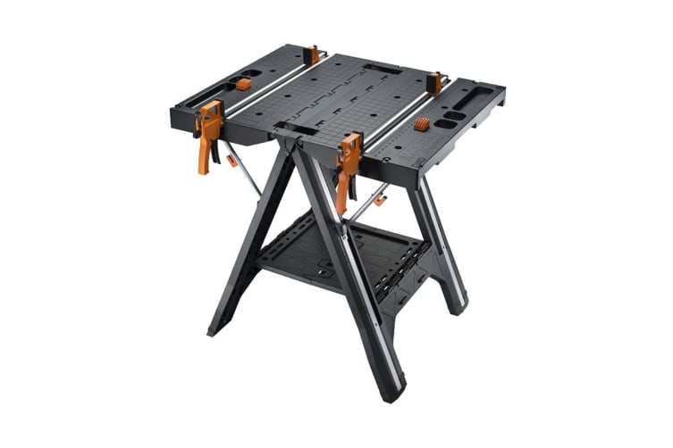 WORX Pegasus Multi-Function Work Table & Sawhorse with Quick Clamps & Pegs (WX051)