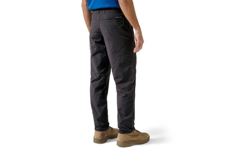 Craghoppers Mens NosiLife Trousers (Black Pepper) (42L)