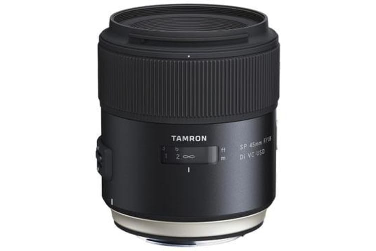 New Tamron SP 45mm F1.8 Di VC USD (F013) Lenses For Canon (FREE DELIVERY + 1 YEAR AU WARRANTY)