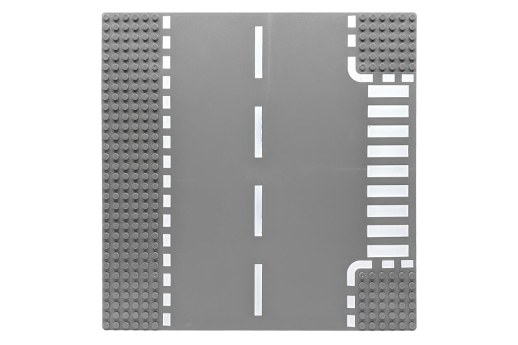 Building Blocks Base Plate with T-Junction - LEGO Compatible