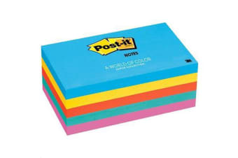 3M Post-it Notes Jaipur Collection 76x127mm