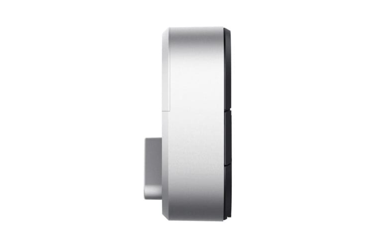 August Bluetooth Smart Lock (Silver, 3rd Generation)