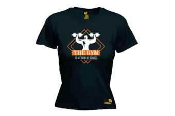 SWPS Gym Bodybuilding Tee - Drug Of Choice - Black Womens T Shirt