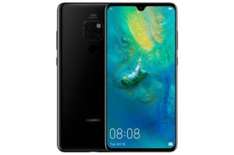 New Huawei Mate 20 Dual SIM 128GB 4GB RAM 4G LTE Smartphone Black (FREE DELIVERY + 1 YEAR AU WARRANTY)