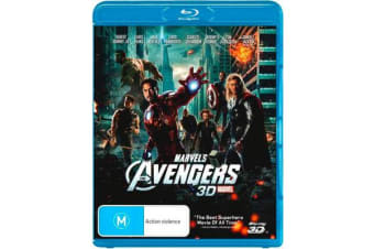 The Avengers 3D (2012) (3D Blu-ray)