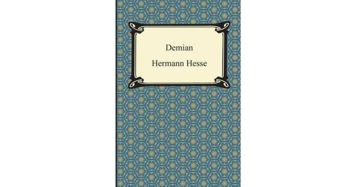the struggle of emil in herman hesses novel demian Siddhartha, hermann hesse - essay one example of imagery in the novel siddhartha by the writer herman hesse is shade poured into his demian hermann hesse.