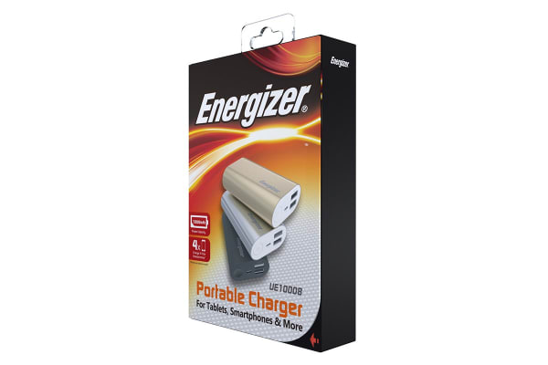 Energizer Power Bank 10K - Silver (UE10008_SR)