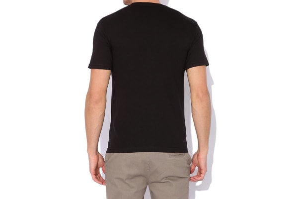 Elwood Men's Branded Tee (Black, Medium)